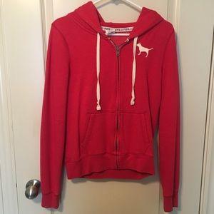 Victoria's Secret pink sweatshirt hoodie